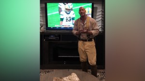 'Best thing that never happened': Dwayne Johnson thanks B.C. Lions' Buono for cutting him from CFL team