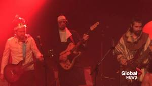 Five Alarm Funk play live for Variety's 50th Show of Hearts Telethon