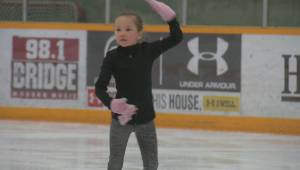 How the Winter Olympics inspired a young Lethbridge girl