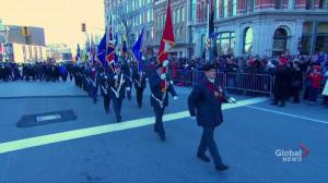 Veterans lead Remembrance Day parade in Ottawa