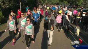 Sights and sounds from '5 for the Fort' fundraiser run