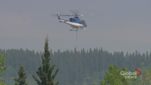 Alberta firefighters battling 'out of control' wildfire near Bragg Creek