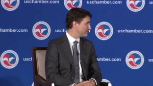 Justin Trudeau reiterates his support for Keystone XL: We have to get Canadian goods to market