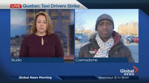 Taxi drivers go on strike