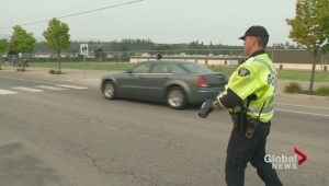 Some Kelowna drivers learn their lesson the hard way on the first day of school