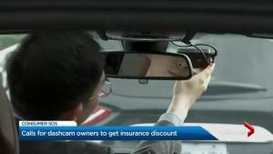 Calls for dash camera owners to get insurance discount (02:15)