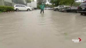 Floodwaters continue to rise in Fort Lauderdale area, curfew extended