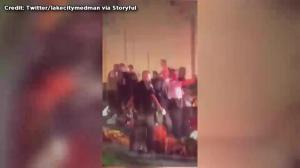 Amateur video captures chaos outside Orlando nightclub following shooting