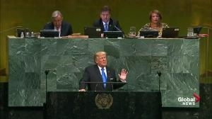 Donald Trump to UN General Assembly: I will always put America First