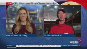 Calgary Stampeders coach Dave Dickenson discusses the CFL Western Final