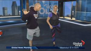 Total body dynamic warm-up