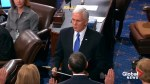 VP Mike Pence administers oath to newly and reelected senators