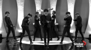 BTS's Beatles-inspired performance at the Ed Sullivan Theatre on 'The Late Show with Stephen Colbert'