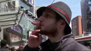 What are Canadians' perceptions on pot?