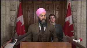 Fall Economic Update: 'Liberals playing Santa Claus for rich corporations, scrooge for everyday families': Jagmeet Singh