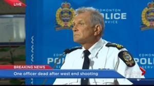EPS Chief Rod Knecht on officer killed in the line of duty