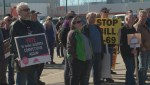 Drayton Valley rally for energy sector ahead of election