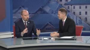 Kingston Mayor, Bryan Paterson, stops by Global News Morning