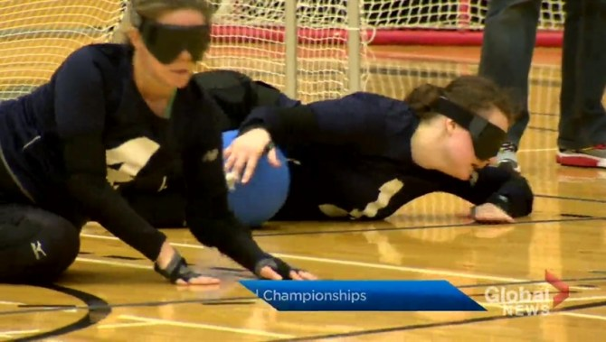 Goalball championships a chance for Nova Scotia athletes to showcase skills at home