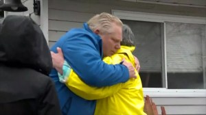 Doug Ford meets with first responders, flood-impacted residents in Ottawa region