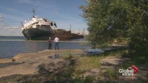 Abandoned cargo ship could pose threat for Montreal's drinking water