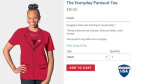 Hillary Clinton wants you to buy an 'everyday pantsuit tee' and more from her web store
