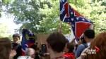 Several arrested following confederate statue protest in North Carolina