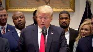 Trump 'thrilled' to support criminal justice reform bill