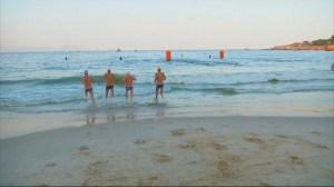 Triathletes preparing for Rio 2016 swim in 'unfit' Copacabana waters