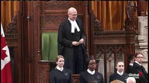 House speaker lectures rambunctious MPs in first Question Period after break