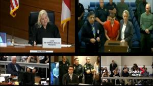 Florida school shooting suspect Nikolas Cruz makes first court appearance