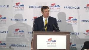 Trump campaign chairman says they are moving focus from plagiarism to Mike Pence