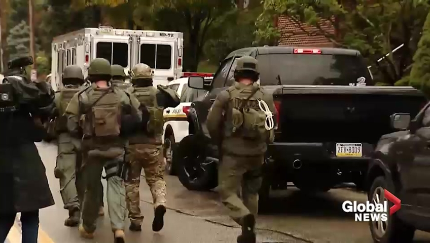 Feds Aiming To Pursue Death Penalty Against Pittsburgh Synagogue Shooting Suspect
