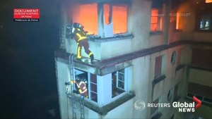 Woman in custody after deadly Paris apartment blaze