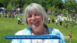 Toronto city councillor Pam McConnell dies (02:37)