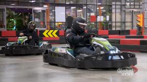 Indoor go-karting a rush for Saskatoon racing enthusiasts