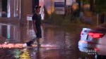 Toronto residents battle flooded streets after deluge of rain