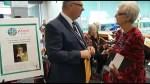 Rosemary Ganley honoured with Peterborough YMCA Peace Medal
