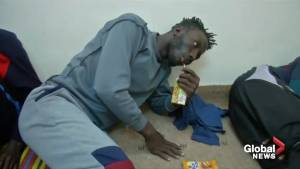 Libyan migrants spend 12 days at sea without food or water