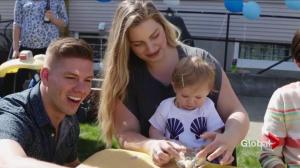 Fort McMurray wildfire baby celebrates first birthday