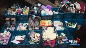Baskets of Hope for women at WIN House