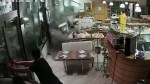 Wave crashes through restaurant windows in Italy as storms continue in region