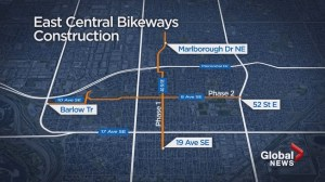 Bike lanes finally coming to east Calgary in summer 2017