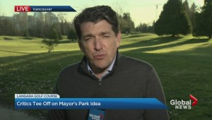 Future of Langara Golf Course in question after mayor's comments