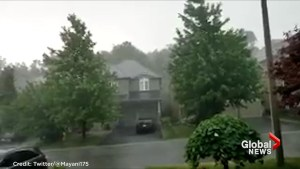 Powerful thunder storm surges though GTA