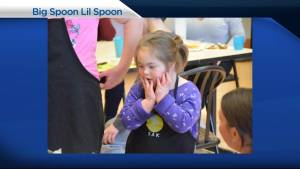 "Members of ""Big Spoon Lil Spoon"" visit Global News Morning"