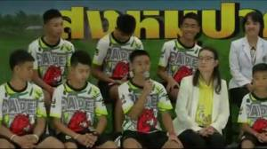 Thai cave boys leave hospital, talk about miracle rescue