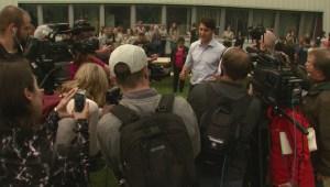 Trudeau visits Prince George