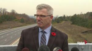 'We should all be looking behind us': OPP Commissioner on Hwy 400 crash