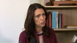 New Zealand PM Ardern says no intelligence linking Sri Lanka attacks to Christchurch shootings (01:04)